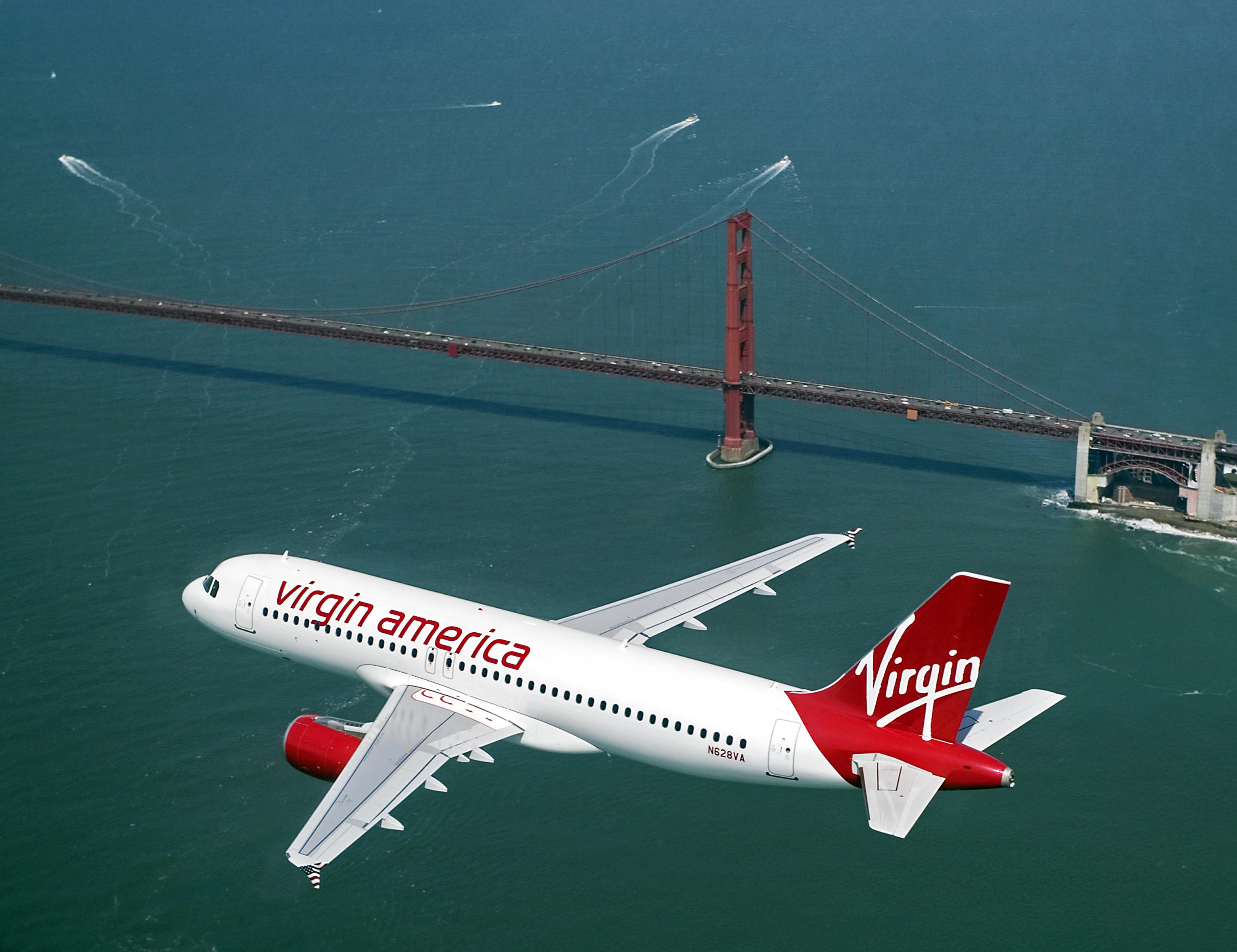 Virgin America Airline 36